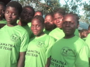 Youth praise and worship team brings joy and salvations to the poor world